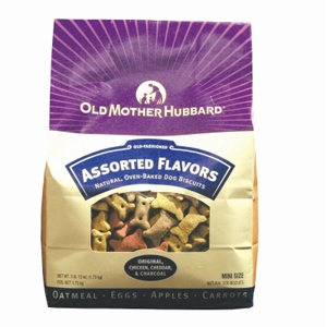 Old Mother Hubbard Classic Mini Dog Biscuits, 3.8 lb - 4 Pack