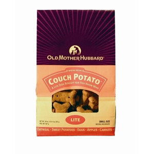 Old Mother Hubbard Couch Potato Small Dog Biscuits, 20 oz - 6 Pack