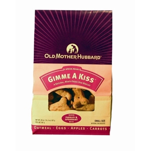 Old Mother Hubbard Gimme A Kiss Small Dog Biscuits, 20 oz - 6 Pack