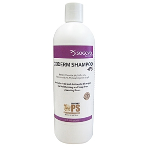 Oxiderm +PS Shampoo, 16 oz