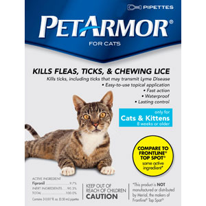PetArmor for Cats, 12 Pack