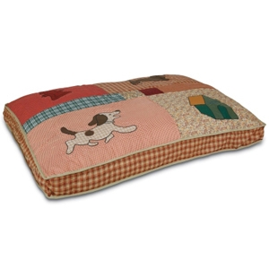 Petmate Applique Quilted Dog Bed