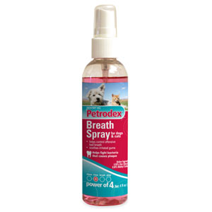 Petrodex Breath Spray for Dogs & Cats, 4 oz | VetDepot.com