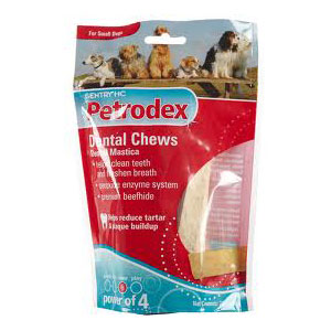 Petrodex Dental Chews for Small Dogs, 24 Chews | VetDepot.com