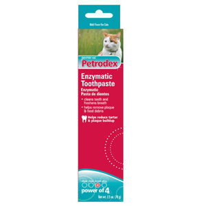 Petrodex Enzymatic Toothpaste for Cats Malt Flavor, 2.5 oz | VetDepot.com