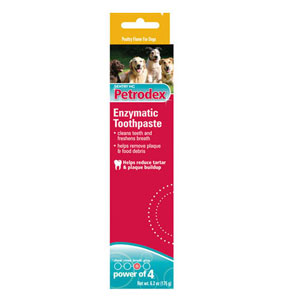 Petrodex Enzymatic Toothpaste for Dogs Poultry Flavor, 6.2 oz | VetDepot.com