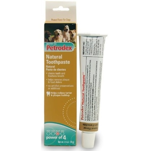 Petrodex Natural Toothpaste for Dogs Peanut Flavor, 2.5 oz | VetDepot.com