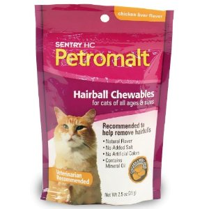 Petromalt Hairball Treats Chicken Liver Flavor, 2.5 oz