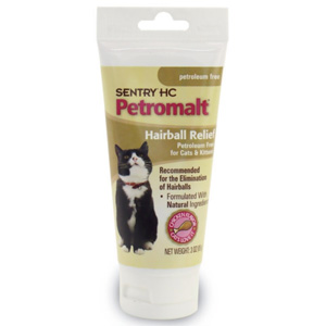 Sentry Petroleum Free Hairball Relief, 3 oz