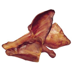 Pig Ears Smoked, 100 ct