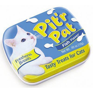 Pitr Pat Cat Breath Treats Fish Flavor, .43 oz | VetDepot.com