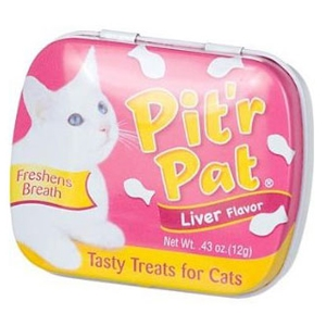 Pitr Pat Cat Breath Treats Liver Flavor, .43 oz | VetDepot.com