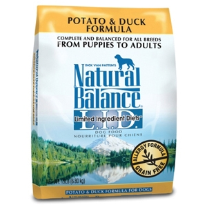 Potato & Duck Formula Dog Food, 15 lb