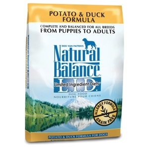 Potato & Duck Formula Dog Food, 28 lb