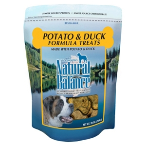 Potato & Duck Formula Dog Treats, 28 oz - 12 Pack