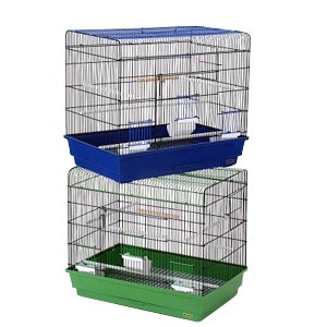 "Prevue Hendryx Flight Cage, 26"" x 14"" x 20"" - 2 Pack"