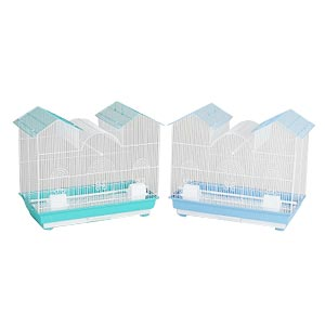 "Prevue Hendryx Triple Roof Bird Cage, 26"" x 14"" x 22.5"" - 2 Pack"