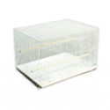 "Prevue Black & White Flight Cage, 30"" x 18"" x 18"" - 4 Pack"