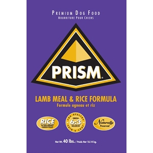 Prism Lamb & Rice 22/12 Formula Dog Food, 40 lb