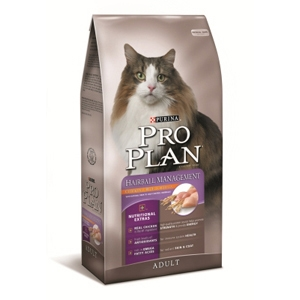 Pro Plan Hairball Management Cat Food, 3.5 lb - 6 Pack