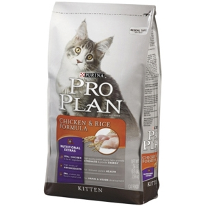 Pro Plan Kitten Food Chicken & Rice, 3.5 lb - 6 Pack
