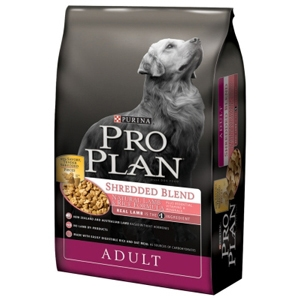 Pro Plan Shredded Blend Dog Food Lamb & Rice, 18 lb