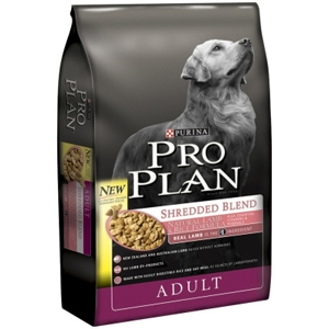 Pro Plan Shredded Blend Dog Food Lamb & Rice, 6 lb - 5 Pack