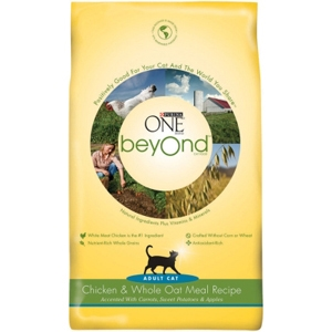 Purina One beyOnd Cat Food Chicken & Oatmeal, 6 lb - 5 Pack