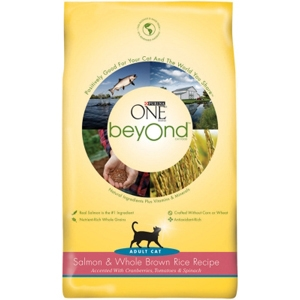 Purina One beyOnd Cat Food Salmon & Rice, 6 lb - 5 Pack