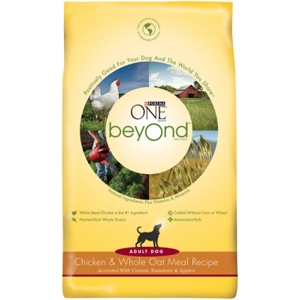 Purina One beyOnd Dog Food Chicken & Oatmeal, 3.5 lb - 6 Pack