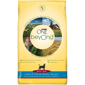 Purina One beyOnd Dog Food Lamb & Barley, 3 lb - 6 Pack