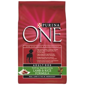 Purina One SmartBlend Dog Food Lamb & Rice, 8 lb - 5 Pack