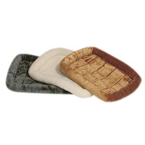 "Quiet Time Bolster Bed Sheepskin, 48"" x 30"""