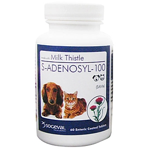 S-Adenosyl-100 (SAMe) for Small Dogs and Cats, 60 Tablets