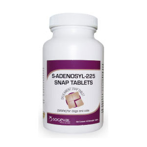 S-Adenosyl-225 (SAMe) for Dogs & Cats, 60 Snap Tablets | VetDepot.com