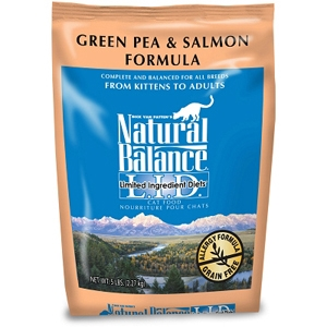 Salmon & Green Pea Formula Cat Food, 5 lb - 6 Pack