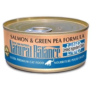 Salmon & Green Pea Formula Cat Food, 6 oz - 24 Pack