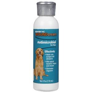 Sentry HC Antimicrobial Wound Cream for Dogs, 4 oz | VetDepot.com