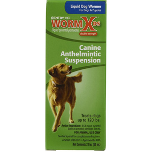 Sentry HC WormX DS Liquid Wormer for Dogs, 2 oz | VetDepot.com