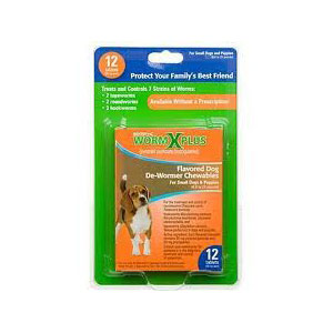 Sentry HC WormX Plus Small Dog, 12 Chewable Tablets | VetDepot.com