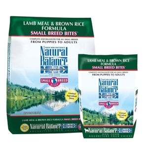Small Breed Bites Lamb & Rice Dog Food, 5 lb - 6 Pack
