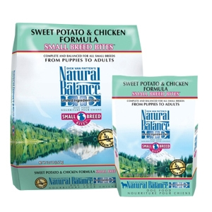 Small Breed Bites Sweet Potato & Chicken Dog Food, 5 lb - 6 Pack