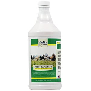 Vitality Equine Insect Repellent For Horses & Dogs, 32 oz Spray