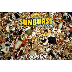Sunburst Cockatiel Bird Food, 25 lb
