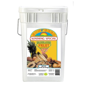 Sunseed Fabulous Fruit Bird Treats, 18 lb