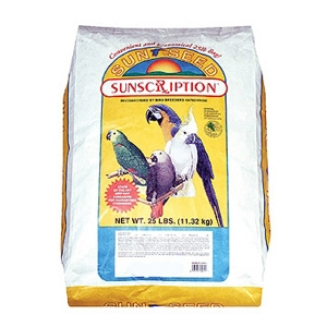 Sunseed Vita Plus Large Hookbill Food, 25 lb
