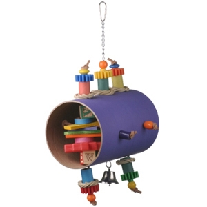 Super Bird Barrel of Fun Bird Toy