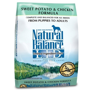 Sweet Potato & Chicken Formula Dog Food, 15 lb