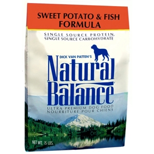 Sweet Potato & Fish Formula Dog Food, 15 lb