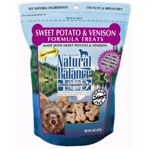 Sweet Potato & Venison Formula Dog Treats, 8 oz - 12 Pack